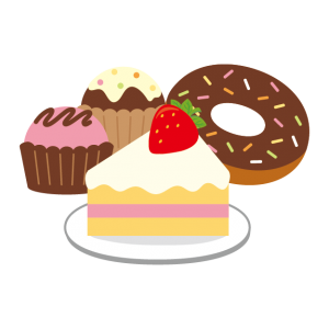 Image result for 甘いもの イラスト