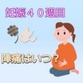 妊娠40週